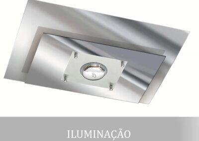 Soquete em alumínio